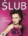 Agnieszka Maciag on the cover of Wedding (Poland) - May 2006
