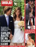 Carlos Baute on the cover of Ihola (Spain) - June 2011