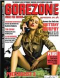 Brittany Murphy on the cover of Gorezone (United Kingdom) - April 2010