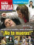 Amores verdaderos, Eduardo Yáñez, Erika Buenfil on the cover of Tele Novela (Spain) - November 2012