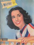 Elizabeth Taylor on the cover of Sunday Mirror (United States) - May 1949