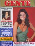Gente Magazine [Italy] (19 December 1974)