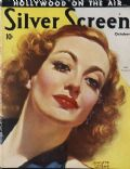 Joan Crawford on the cover of Silver Screen (United States) - October 1936