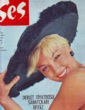 on the cover of Ses (Turkey) - October 1967