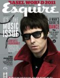 Liam Gallagher on the cover of Esquire (Malaysia) - May 2011
