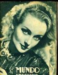 Carole Lombard on the cover of Mundo Uruguayo (Uruguay) - April 1937