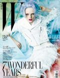 Hanne Gaby Odiele on the cover of W (Korea South) - March 2012