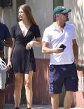Leonardo DiCaprio and Lorena Rae
