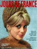 Catherine Deneuve on the cover of Jours De France (France) - August 1963