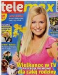 Aneta Zajac on the cover of Tele Max (Poland) - March 2008