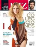 Mariano Martínez, Naomi Preizler on the cover of Luz (Argentina) - September 2011