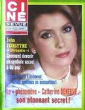 Catherine Deneuve on the cover of Cine Revue (France) - February 1984