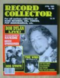 Bob Dylan on the cover of Record Collector (United Kingdom) - April 1993
