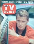 Troy Donahue on the cover of TV Guide (United States) - February 1962