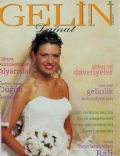 Doga Bekleriz on the cover of Gelin (Turkey) - July 2000