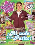 Laura Esquivel on the cover of Patito Feo (Argentina) - March 2009