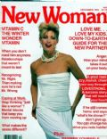 Kelly Emberg on the cover of New Woman (United States) - December 1984