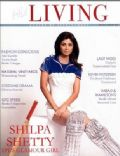 Shilpa Shetty on the cover of Hi Living (India) - May 2009