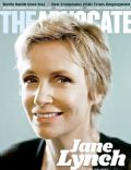 Jane Lynch on the cover of The Advocate (United States) - October 2011