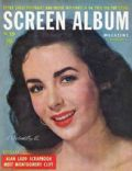 Elizabeth Taylor on the cover of Screen Album (United States) - September 1949