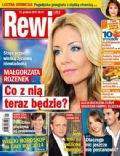 Malgorzata Rozenek, Piotr Adamczyk on the cover of Rewia (Poland) - December 2013