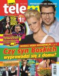 Malgorzata Kozuchowska, Tomasz Karolak on the cover of Tele Max (Poland) - June 2013