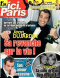 Jean Dujardin on the cover of Ici Paris (France) - February 2012