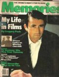 Gregory Peck on the cover of Memories (United States) - December 1989