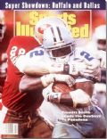 Emmitt Smith on the cover of Sports Illustrated (United States) - January 1993