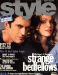 Madonna, Rupert Everett on the cover of Style (United States) - June 2000