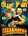 Ceza, Hayko Cepkin on the cover of Blue Jean (Turkey) - March 2009