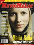 Maria Bello on the cover of Moviemaker (United States) - June 2004