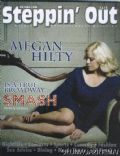 Megan Hilty on the cover of Steppin Out (United States) - March 2013