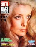 Catherine Deneuve on the cover of Siete Dias Ilustrados (Spain) - June 1970