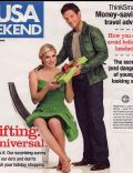 Jamie Bamber, Katee Sackhoff on the cover of Usa Weekend (United States) - December 2006