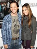 Clifton Collins Jr. and Megan Ozurovich