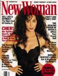 Cher on the cover of New Woman (United States) - December 1991