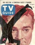 Red Skelton on the cover of TV Guide (United States) - June 1957