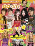 Ashley Tisdale, Avril Lavigne, Christina Aguilera, Demi Lovato, Emre Aydin, Justin Bieber, Miley Cyrus, Nick Jonas, Robert Pattinson, Selena Gomez, Sterling Knight on the cover of Go Girl (Turkey) - May 2010