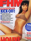Holly Valance on the cover of Fhm (United Kingdom) - October 2003