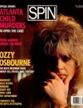 Ozzy Osbourne on the cover of Spin (United States) - September 1986