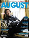 Adrien Brody on the cover of August Man (Singapore) - July 2010