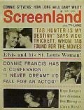 Tab Hunter on the cover of Screenland (United States) - May 1961