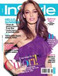 Andreea Raicu on the cover of Instyle (Romania) - June 2013