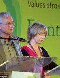 Richard Dawkins and Lalla Ward