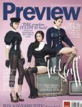 Julia Montes, Kathryn Bernardo, Sam Pinto on the cover of Preview (Philippines) - October 2011