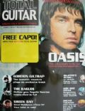 Liam Gallagher on the cover of Total Guitar (United Kingdom) - May 2000