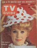 Connie Stevens on the cover of TV Guide (United States) - April 1962