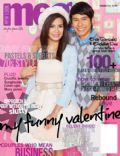 Enchong Dee, Enchong Dee and Erich Gonzales, Erich Gonzales on the cover of Meg (Philippines) - February 2011