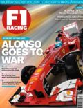 Fernando Alonso, Sebastian Vettel on the cover of F1 Racing (United Kingdom) - May 2013